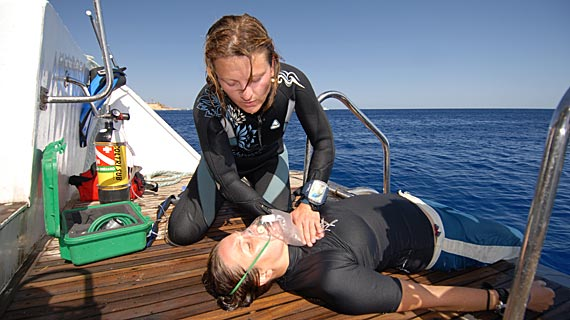Cpr And First Aid Instruction Swim And Scuba Long