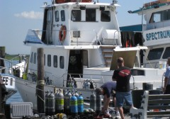 Local Dive Boat Trips 2015